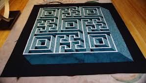 Labyrinth Walk Quilt Pattern Enchanting Labyrinth Walk Quilt Images ✓ Quilting