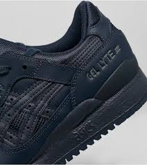asics gel lyte iii leather shoes asics womens blue shoes