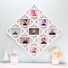 chinese knot 9 image family photo frame collage picture wall hanging decor wedding gift cod