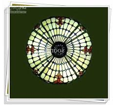 colorful glass tiffany artistic ceiling light with 2 light living room dining room chandelier ceiling dining room lights photo 2