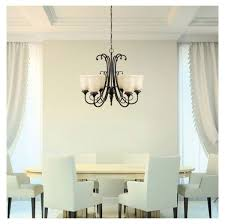 beverly 6 light oil rubbed bronze chandelier with amber glass shade for in houston tx offerup