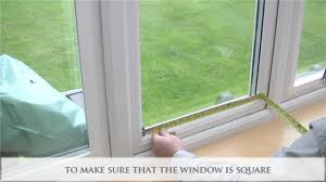 How To Measure And Install Perfect Fit Window Blinds  YouTubeBlinds Fitted To Window Frame