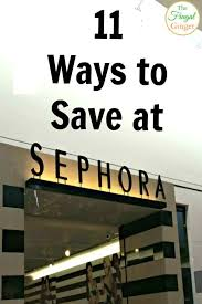 your wallet will thank you with these sephora money saving tips