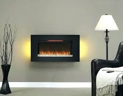 small wall mounted fireplace