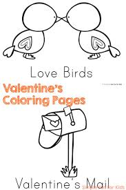 Valentine Day Coloring Pages Pdf Printable Coloring Page For Kids