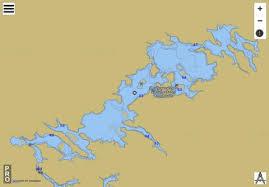 Barton Lake Depth Chart Barton Lake Fishing Map Ca_on_v_103408528 Nautical