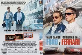 Как противостояние ford и ferrari определило историю автоспорта хх века. Ford V Ferrari 2019 Dvd Custom Cover Ferrari Ford Dvd Cover Design