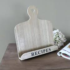 recipe book stand country kitchen wooden recipe book holder