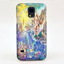 samsung galaxy s5 3d cases. princess ariel little mermaid in the castle for iphone and samsung (samsung galaxy s5) s5 3d cases 5