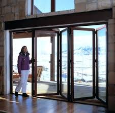 outdoor glass wall panels best indoor pool folding doors images on nana accordion exterior bi fold