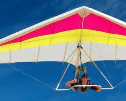 experience gifts hang gliding