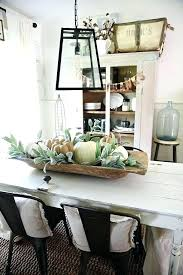 farmhouse round dining table centerpieces decor full size of ideas