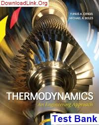 Where can I find the Test Bank for Thermodynamics an Engineering ...