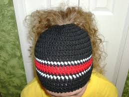 Free Pattern For Ponytail Hat