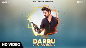 Punjabi Poster Design Darru In Well Full Video Song Sanjay Khicher Latest