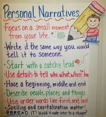 best personal narrative images teaching writing personal narratives pinning as an idea for creating anchor charts for student projects in upper grades i give my middle and high school students handout