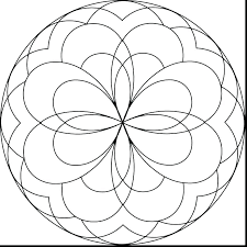 Easy Free Mandala Coloring Pages Kids Mandala Coloring Pages Online