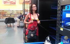walmart people flashing.  Walmart Casual Grocery Shopping With Walmart People Flashing