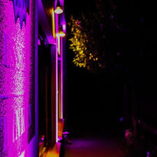 Illumination Architektur Pink Beleuchtung Led