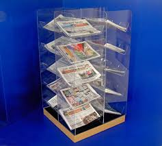 Newspaper Display Stands Custom Newspaper Displays Collins Plastics Ltd
