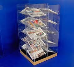 Newspaper Display Stands Custom Newspaper Displays Collins Plastics Ltd