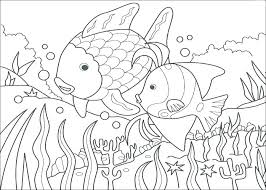 Tropical Fish Coloring Pages Guppy Page Dpalaw