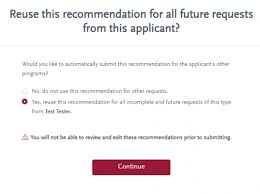 Letter Of Recommendation Not Submitted Optimizing The Recommender Experience In Common App For Transfer