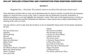 essay on english literature should you take ap english literature or ap english language