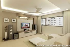 Room HDB Yishun Renovation Interior Design BEhome Design Concept - Living room renovation