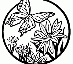 Small Picture Coloring Pages Of Butterflies Best Coloring Pages
