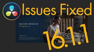Mega Fusion Design Studio Davinci Resolve 16 1 1 Aimed To Fix Issues