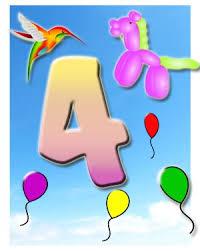 4 Geburtstag Glückwünsche