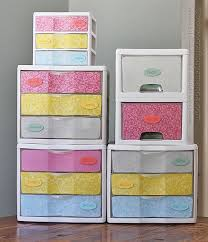 spray paint storage plastic dresser makeover plastic storage drawers amanda formaro crafts by