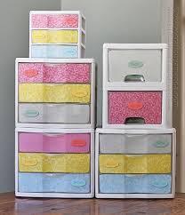 spray paint storage plastic dresser makeover plastic storage drawers amanda formaro crafts by