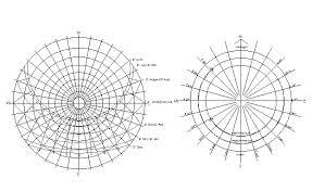 Sun Path Chart Cad Block Design Of Sun Path Dwg File