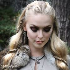 Viking Hairstyle Female makeup and vikings thevikingqueen 8331 by wearticles.com