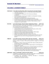 Youth pastor resume templates Carpinteria Rural Friedrich Organizer Resume  samples