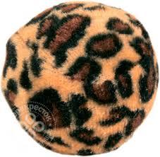 Купить <b>Игрушка для кошек Trixie</b> Мячик Леопард 3.5см 4шт с ...