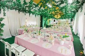 cailey s posh garden themed party 1st