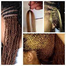 Crochet Twist Braid Pattern Delectable How I Crocheted Micro Senegalese Twists Into My Hair BGLH Marketplace