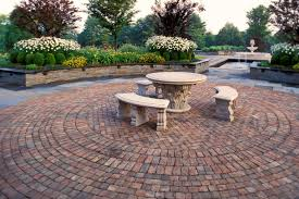 Small Picture brick patio wall designs Brick Patio Designs For Your Garden