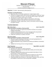Charming Resume For Post Office Worker Pictures Inspiration