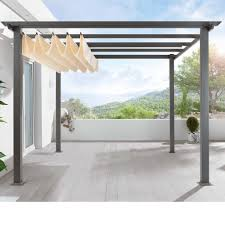 Modern Pergolas Pergola Collapsable Shade Cant Decide If I Want That Or Not