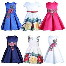 Baby Girl Dress Patterns Amazing 48 Samgami Baby Girl Dress Floral Pattern A Line Princess Dress