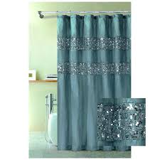 Blue Brown Shower Curtain Blue Raspberry Fabric Shower Curtain