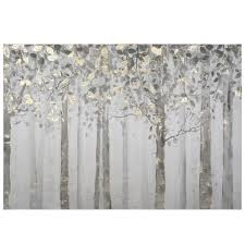 yosemite home decor 28 in x 40 in grey and yellow trees