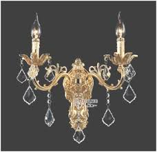whole golden crystal wall light fixture silver wall sconces throughout wall mounted chandelier view
