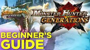 Monster Hunter Generations Light Crystal Monster Hunter Generations Beginners Guide Polygon