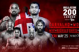 Main card (showtime at 9 p.m. Bellator 200 Carvalho Vs Mousasi Play By Play Results And Discussion Bloody Elbow