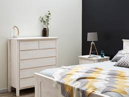 whitewashed bedroom furniture. Whitewash Queen Size Bed With Four Storage Drawers \u2013 Fantastic Timber Whitewashed Bedroom Furniture L